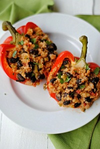 Quino Stuffed Peppers